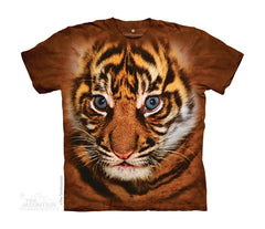 7106 Big Face Sumatran Tiger Cub Youth T-Shirt