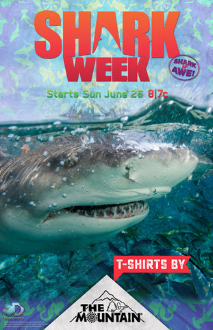 SW1 Shark Week Poster Generic
