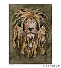 "3175 DJ Jahman 50x60"" Sherpa Fleece Blanket"