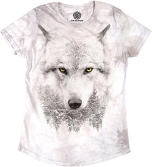 5821 Wolf Forest Women's Tri-Blend T-Shirt