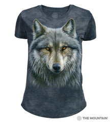 264979 Warrior Wolf Women's Tri-blend T-Shirt