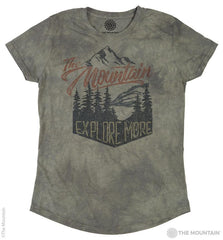 5825 Explore More Women's Tri-Blend T-Shirt