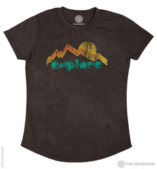 5826 Explore Mountain Women's Tri-Blend T-Shirt