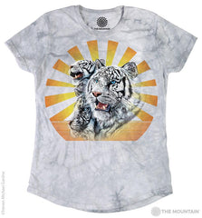 5830 Tigers Blaze Women's Tri-Blend T-Shirt