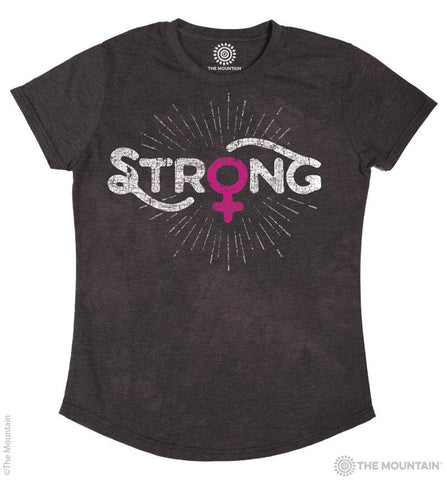 5833 Strong Women's Tri-Blend T-Shirt