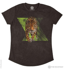 5848 Dynamic Jaguar Women's Tri-Blend T-Shirt
