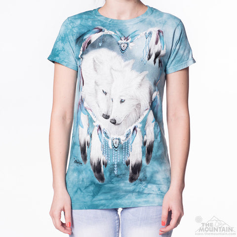 283817 Wolf Heart Ladies Tee