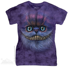 284005 Big Face Cheshire Cat Classic Ladies Tee