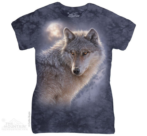 284013 Adventure Wolf Classic Ladies Tee