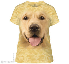 284023 Big Face Golden Ladies Tee