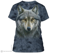 284979 Warrior Wolf Ladies Tee