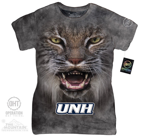 UNH 285088 BIG FACE UNH WILDCATS LOGO