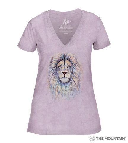 6497 Leo the Lion - Pink Women's Triblend T-Shirt