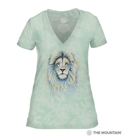 6497 Leo the Lion - Green Women's Triblend T-Shirt