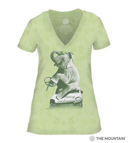 6499 Drink and Drive - Green Women's Triblend T-Shirt