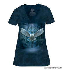 415840 Awake Your Magic Women's Tri-Blend V-Neck T-Shirt
