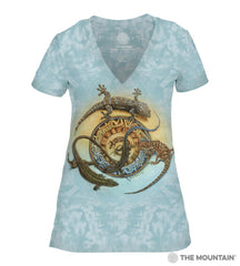 415946 Mimbre Journey Women's Tri-Blend V-Neck T-Shirt