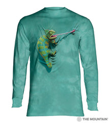 4052 Climbing Chameleon Long Sleeve T-Shirt