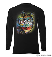6320 Painted Wolf Long Sleeve T-Shirt