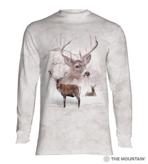 6392 Wintertime Deer Long Sleeve T-Shirt