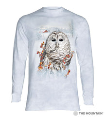 6394 Country Owl Long Sleeve T-Shirt