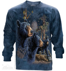 453481 Find 13 Black Bears Long Sleeved Tee