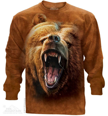 453526 Grizzly Growl Long Sleeved Tee