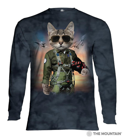 453904 Tom Cat Long Sleeved T-Shirt