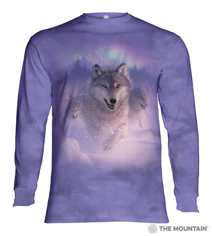 454881 Northern Lights Long Sleeved T-Shirt