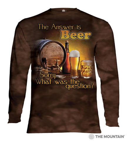 454902 Beer Outdoor Long Sleeved T-Shirt