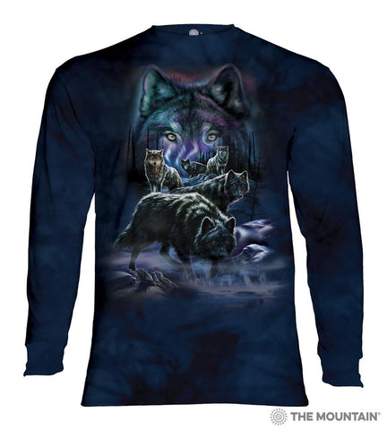 455915 Wolf Pack Long Sleeved T-Shirt