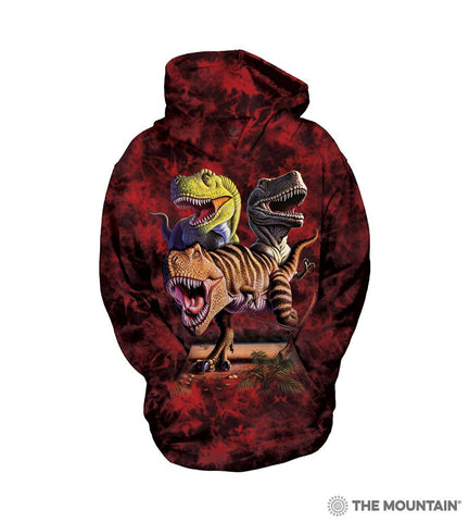 533025 Rex Collage Youth Hoodie Sweatshirt