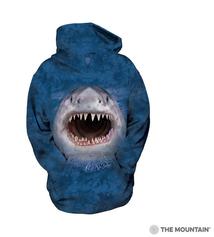 533955 Wicked Nasty Shark Youth Hoodie Sweatshirt