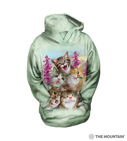 534988 Kittens Selfie Youth Hoodie Sweatshirt