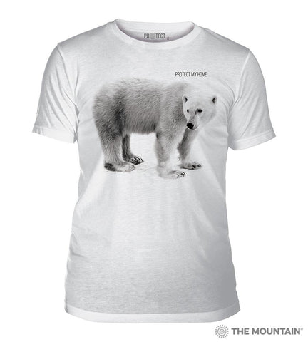 5554 Polar Bear My Home Triblend T-Shirt