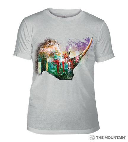 6325 Painted Rhino Grey Triblend T-Shirt