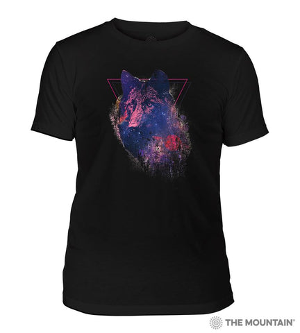 6328 Cosmic Wolf Triblend T-Shirt