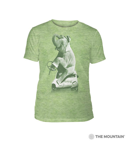 6499 Drink and Drive - Green Triblend T-Shirt