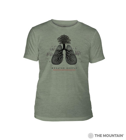 8728 Breathe Deeply Triblend T-Shirt
