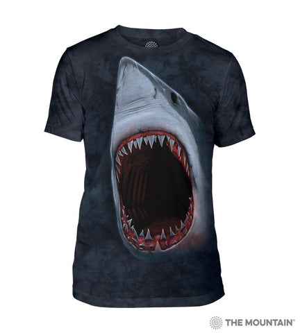 543103 Shark Bite Men's Tri-Blend T-Shirt