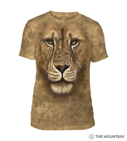543180 Lion Warrior Men's Tri-Blend T-Shirt