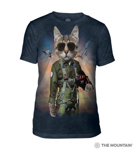 543904 Tom Cat Men's Tri-Blend T-Shirt