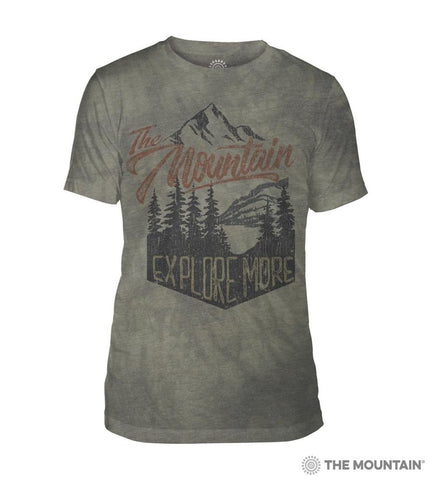 545825 Explore More Men's Tri-Blend T-Shirt