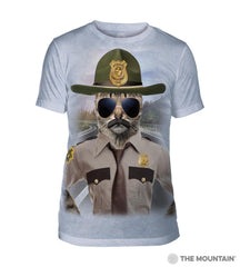 545952 Kitten Trooper Men's Tri-Blend T-Shirt