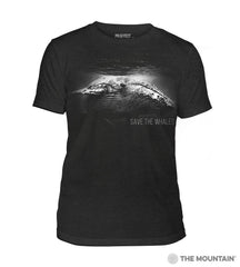 545981 Save The Whales Men's Tri-Blend T-Shirt