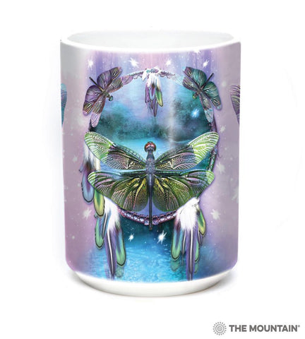 573397 Dragonfly Dreamcatcher Mug