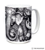 573681 Big Face Ganesh Mug
