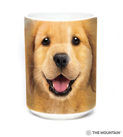 573743 Golden Retriever Puppy Mug