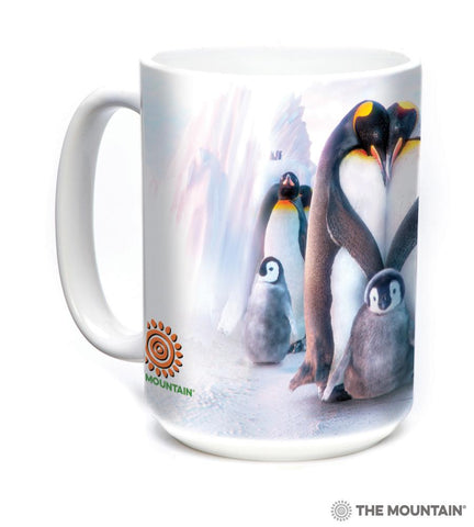 573981 Penguin Heart Mug