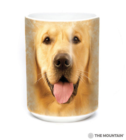 574023 Big Face Golden Mug